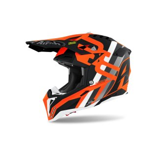 Airoh Aviator 3 Rainbow Orange Matt