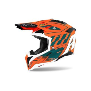 Airoh Aviator 3 Rampage Orange Gloss