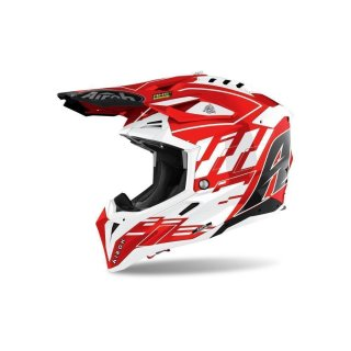 Airoh Aviator 3 Rampage Red Gloss
