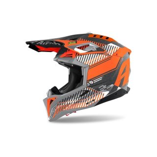 Airoh Aviator 3 Wave Orange Chrome
