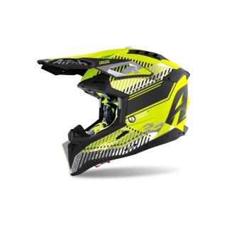 Airoh Aviator 3 Wave Yellow Matt