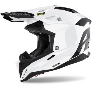 Airoh Aviator 3 Color White Gloss