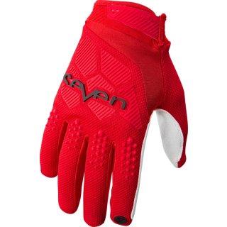 Seven Handschuhe Rival Rot