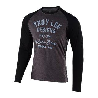 TLD Vintage Race Shop T-Shirt Grau/Schwarz