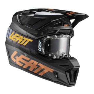 Leatt Helm inkl. Brille 9.5 V21.1 carbon