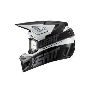 Leatt Helm inkl. Brille 8.5 V21.1 schwarz-weiss