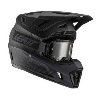 Leatt Helm inkl. Brille 7.5 V21.1 schwarz