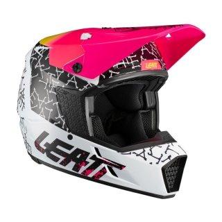 Leatt Helm 3.5 V21.2 weiss-schwarz-rot