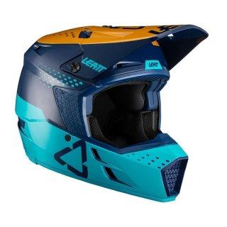 Leatt Helm 3.5 V21.4 blau