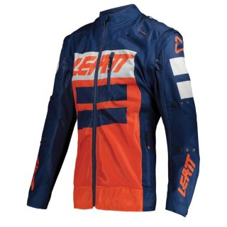 Leatt Jacke 4.5 X-Flow blau-orange