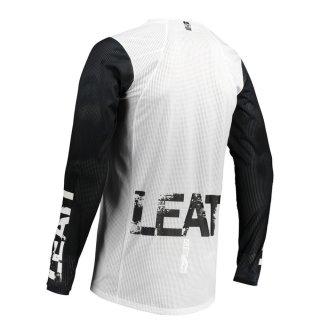 Leatt Jersey 4.5 X-Flow weiss-schwarz