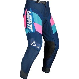 Leatt Hose 4.5 blau-pink