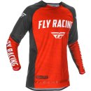 Fly Racing Hemd Evolution DST rot-schwarz-weiß