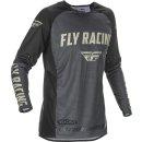 Fly Racing Hemd Evolution DST grau-schwarz-stone