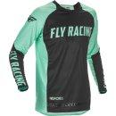 Fly Racing Hemd Evolution DST L.E. mint-schwarz