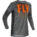 Fly Racing Hemd Lite grau-orange-schwarz