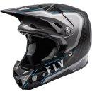 Fly Racing Helm Formula Carbon Axon schwarz-grau-blau