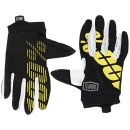 100% Itrack Handschuhe Schwarz/Gelb