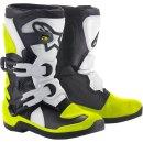 Alpinestars Stiefel Tech3S Kids Bk/Wt/Yl