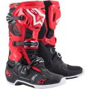 Alpinestars Stiefel Tech 10 Bk/Wt/Rd