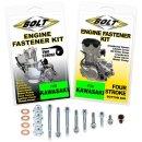 Bolt Motor Schrauben Kit Kawasaki KX 125 88-05