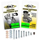 Bolt Motor Schrauben Kit Kawasaki KX 500 87-04