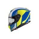 PREMIER Integralhelm Hyper BP 12 blau-gelb-weiss