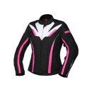 iXS Damen Jacke Sport RS-1000-ST schwarz-weiss-pink