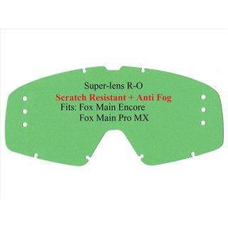 Fox Ersatzglas Main Pro / Encore Roll Off Klar Hersteller: Polywel