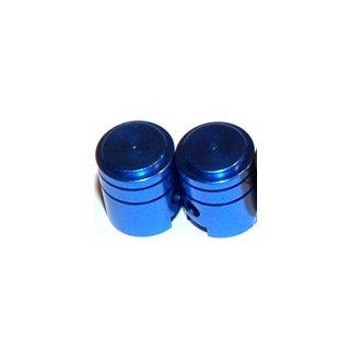 X-One Ventilkappen 2Stk Kolben Blau