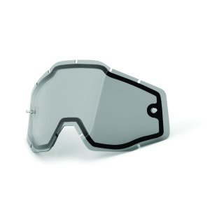 100% Ersatzglas Racecraft & Mx Brille Accuri Doppelglas Smoke