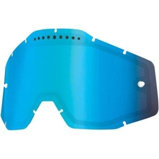 100% Ersatzglas Belüftet Verspiegelt Blau
