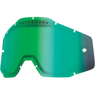 100% Ersatzglas Belüftet Verspiegelt Grün