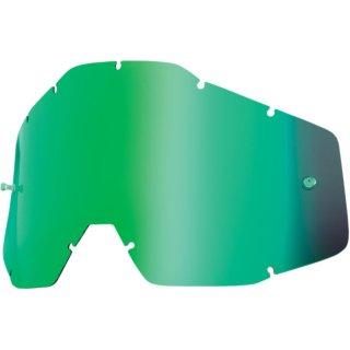 100% Ersatzglas Mx Brille Accuri Kinder Grün Verspieglt