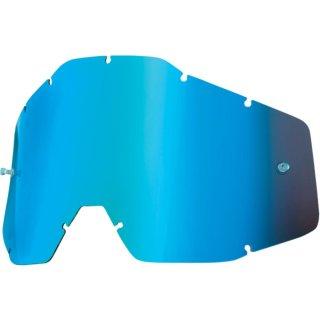 100% Ersatzglas Mx Brille Accuri Kinder Blau Verspiegelt