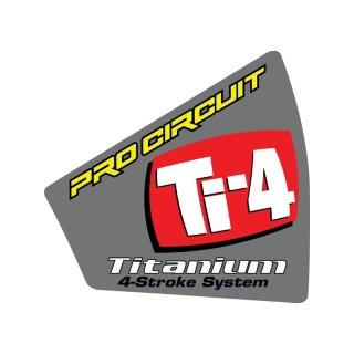 Pro Circuit Aufkleber Endkappe Ti-4 Slip On 08 DCTI4E