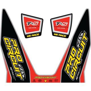 Pro Circuit Aufkleber T-5 Race System DC12T5