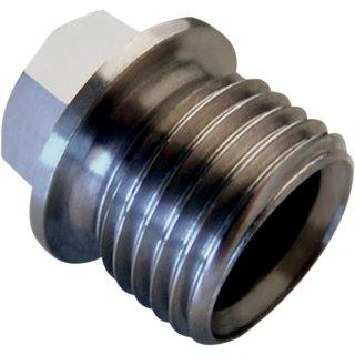 Moose Racing Drain Plug Non-Mag Slvr DP115
