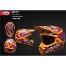 Bell Helm Moto 9 Tagger Orange S