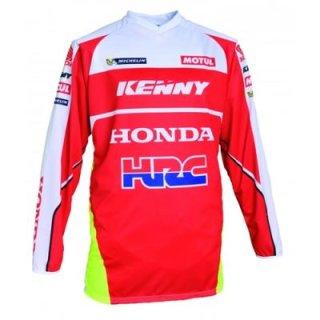 Kenny Hrc Mx Crossshirt Rot/Weiss