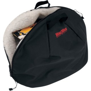 Parts Unlimited BAG-HELMET BAGMAN BLK