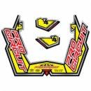 Pro Circuit Auspuff Sticker Kit T4-Gp