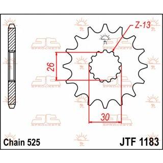 JT FRONT SPROCKET 17T 525