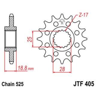 JT FRONT SPROCKET 525 19T