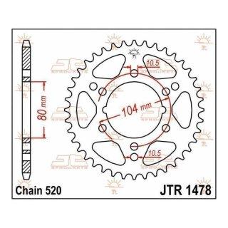 JT Kettenrad 34T 520 JTR1478.34
