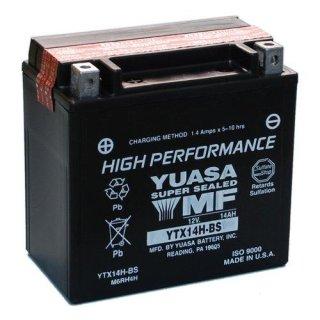 Battery Ytx14H-Bs .69Ltr