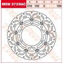 TRW Bremsscheibe Float Rac L/R MSW273RAC