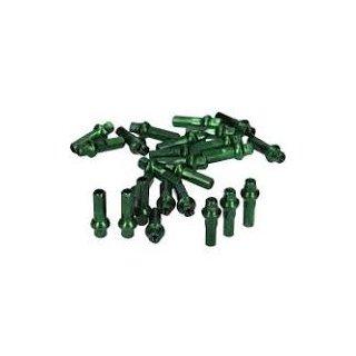 Speichennippel grün 36per Set 4.00mm x 7.60mm