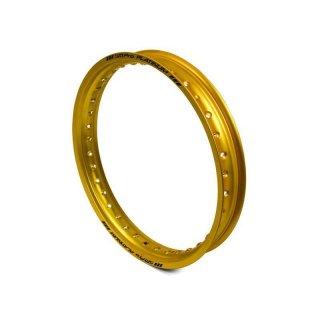 "SM Pro Platinium Felgenring 32H 19""X2.15 Gold"