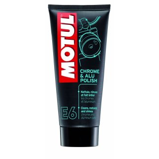 Motul E6 Chrome & Alu Politur 100ml